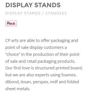 #displaystands
