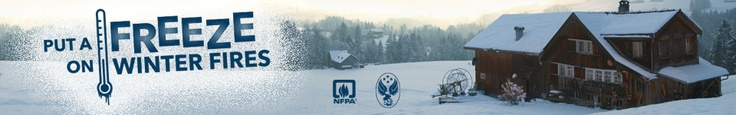 The United States Fire Administration (USFA) and the National Fire Protection Association (NFPA) are working together to remind everyone that home fires are more prevalent in winter than in any other season.