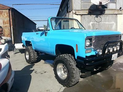 1974 Chevy Blazer K5 Fully Convertible New Paint, New Interior NO RESERVE photo 2