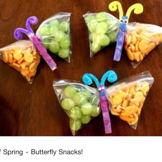 Great snack idea for a kid's birthday party!