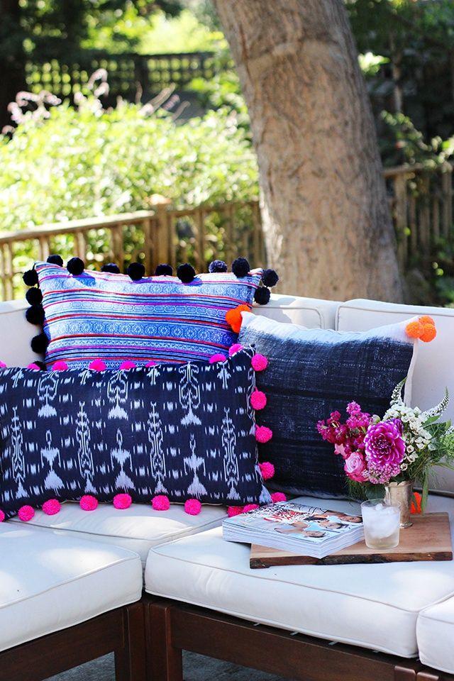 Декоративні подушки власноруч: 40 ідей