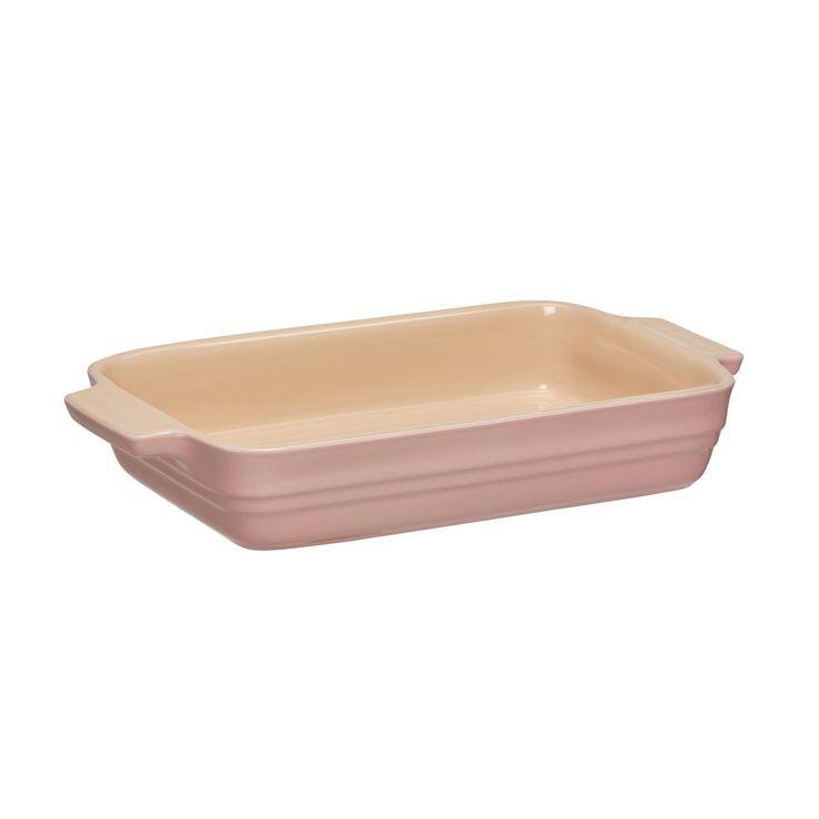Le Creuset - Limited Edition Auflaufform - rosa/Auch für Mikrowelle & Gefrierschrank geeignet/26x17cm