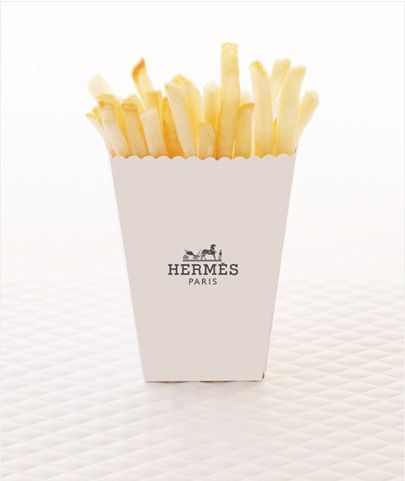hermès fries: