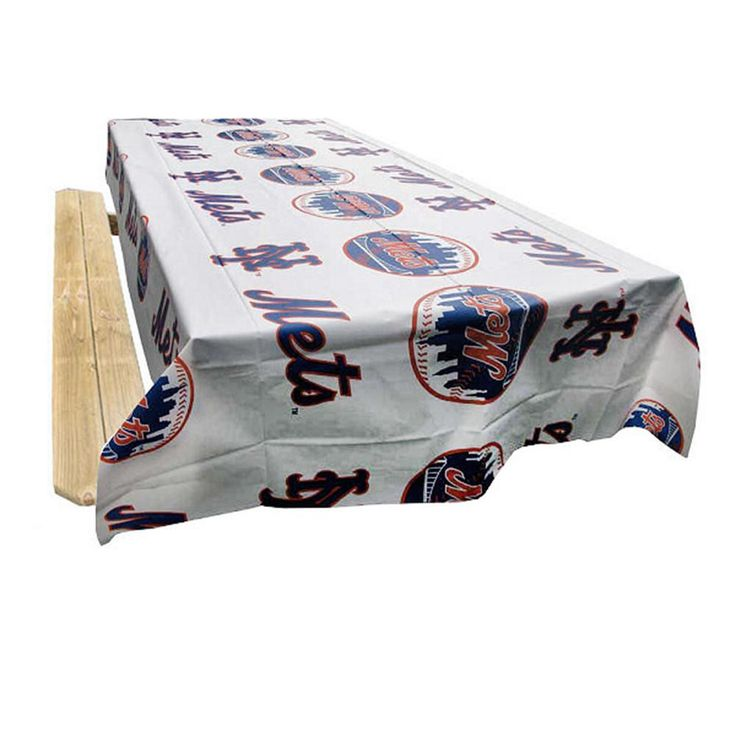 New York Mets MLB Twin Pack Table Covers (2 Covers)