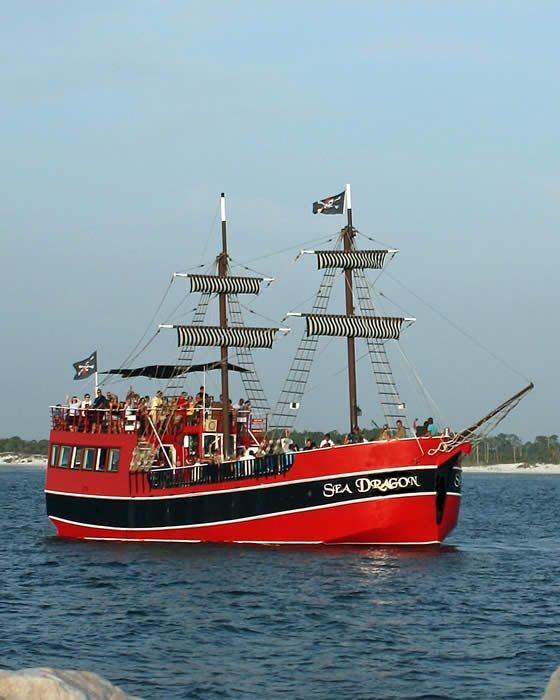 The Sea Dragon Pirate Cruise, Panama City Beach, FL...can't wait to take the kiddos on this in a couple weeks:)