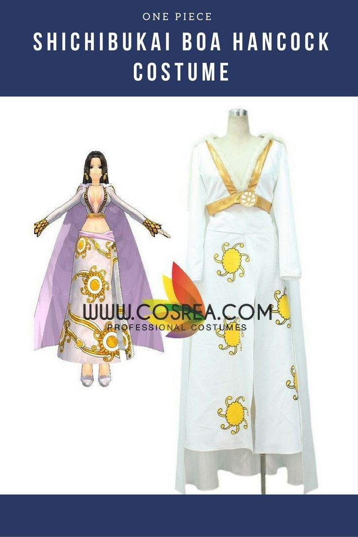 One Piece Shichibukai Boa Hancock Cosplay Costume
