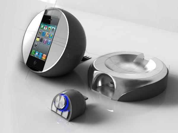 Iphone Dock by Irina Alexandru/ AIRA design studio , via Behance