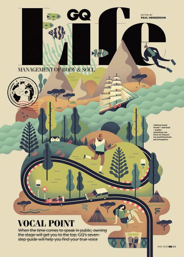 Folio illustration agency, London, UK | Owen Davey - Advertising ∙ Editorial ∙ Publishing ∙ Vector ∙ Character ∙ Mountains ∙ Trees ∙ Water - Illustrator