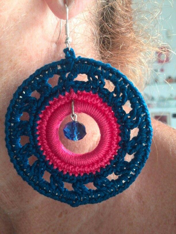 orecchino a crochet