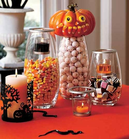 Happy Halloween Tips On Home Decoration 1: 70 Best Images About Candle Setup Ideas On Pinterest