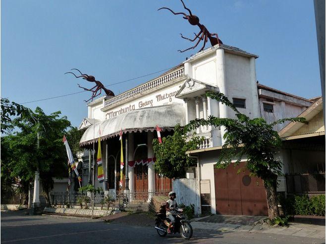 Marabunta heritage building, Kota Lama, Ouderstaad, Semarang