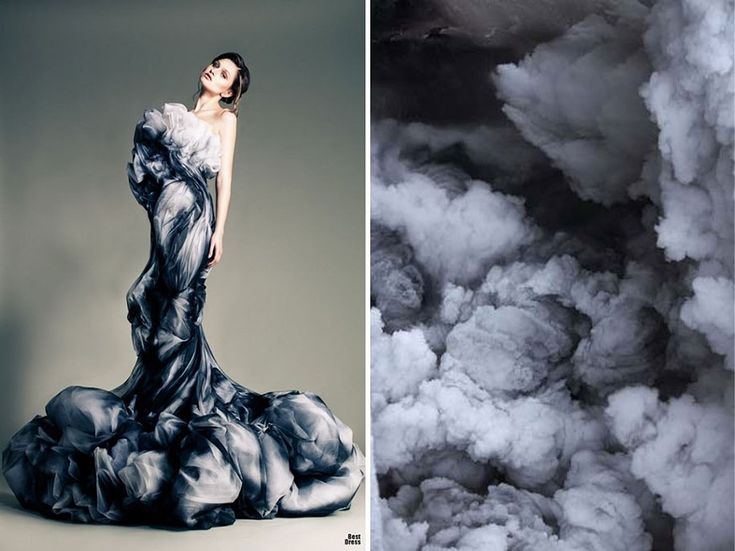 Fashion Inspired By Nature: Russian Artist Compares Famous Dresses And Landscapes   DeMilked