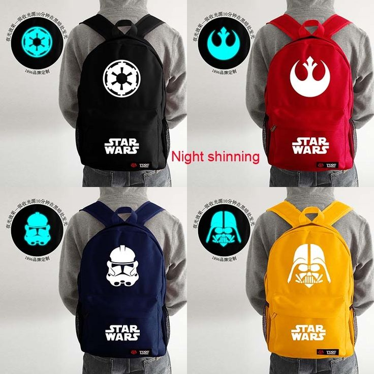(27.06$)  Watch here - http://aicx5.worlditems.win/all/product.php?id=32428280731 - 24colors choice New canvas STAR WARS girl boy  Bags  Backpack  day bag Party Gift sac a dos print Mochilas Infantil Cartoon