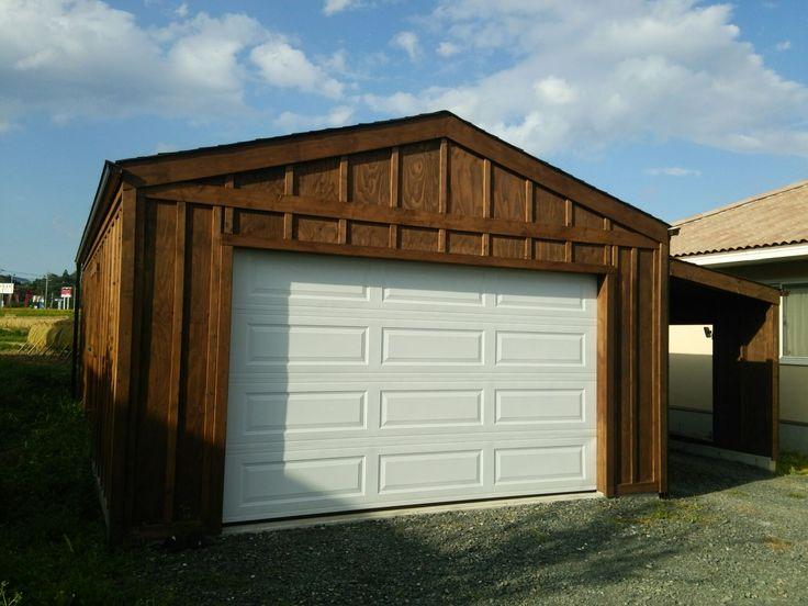 木造ガレージ!DIYキットセットが人気の4つの理由! – 物置のある暮らし ... 木造ガレージG-KIT ...