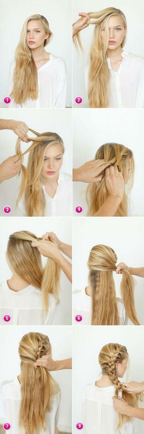 Frisuren für lange Haare leicht zu tun