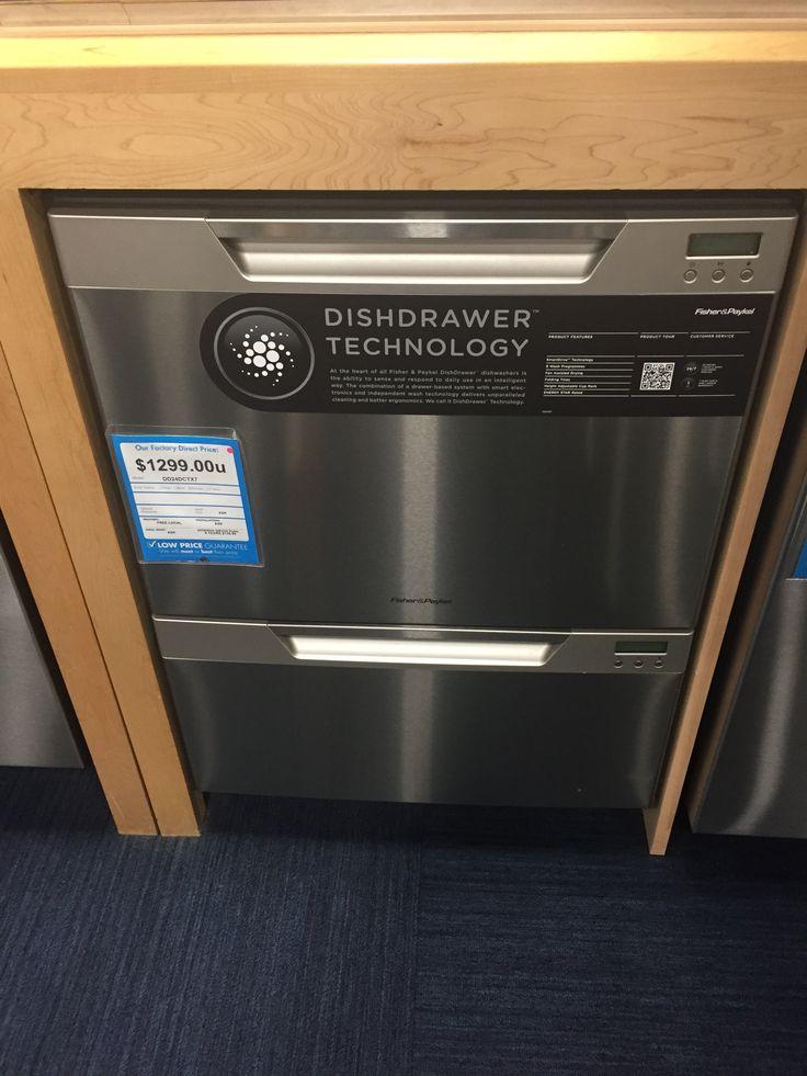 Fischer & Paykel 2-drawer dishwasher