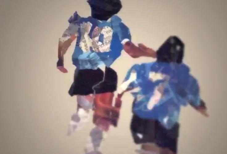 Video Inspirations: Fantasista animation - Maradona vs England