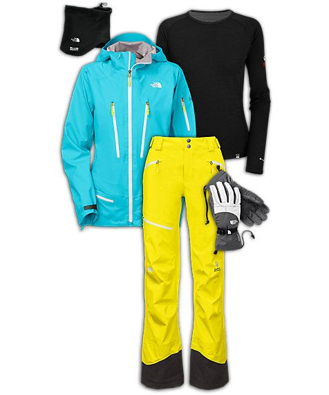 The North Face® Women's Skiing Outfit