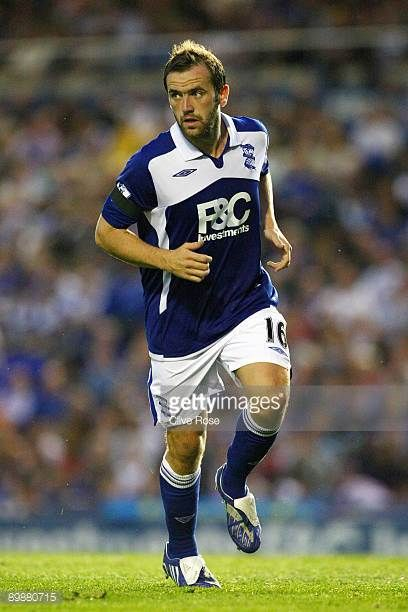 James McFadden of Birmingham City during the Barclays Premier League match between Birmingham City and Portsmouth at St Andrews Stadium on August 19...