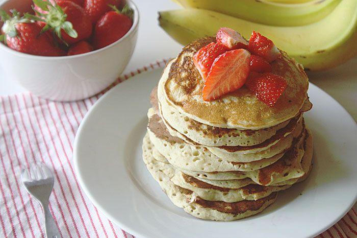pancakes banane sans gluten
