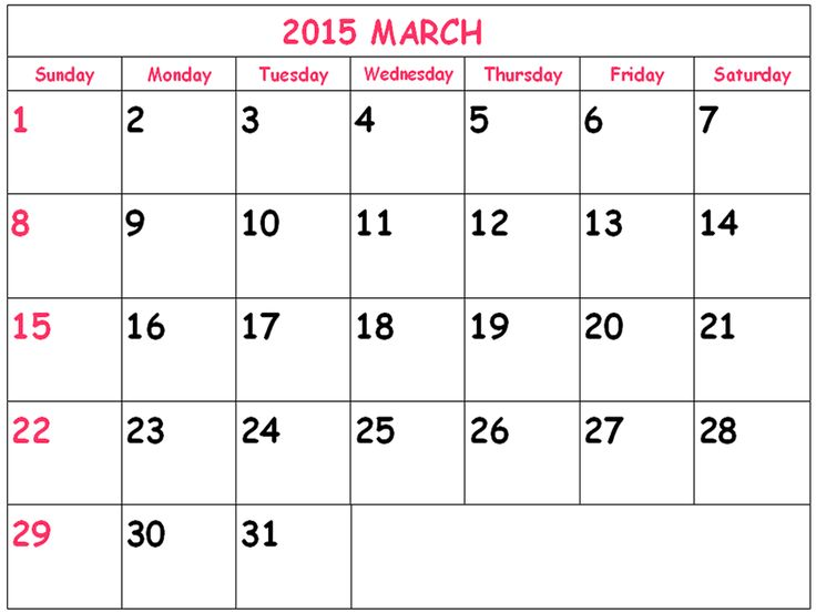 52 best march 2015 calendar images on pinterest printable stencils download march 2015 calendar canada printable cute march 2015 calendar canada usa uk saigontimesfo