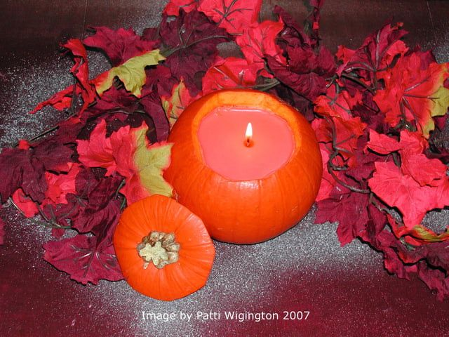 Everyone loves candles, and with Samhain coming you can make your own candles out of small pumpkins and squashes. Learn how to do this fun and easy craft in just a few steps.