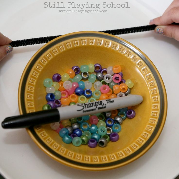 Solar System Bracelet Craft for Kids | Still Playing School