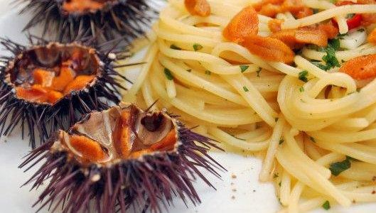 Spaghetti ai Ricci di Mare http://www.hipuglia.it/spaghetti-ai-ricci-mare/