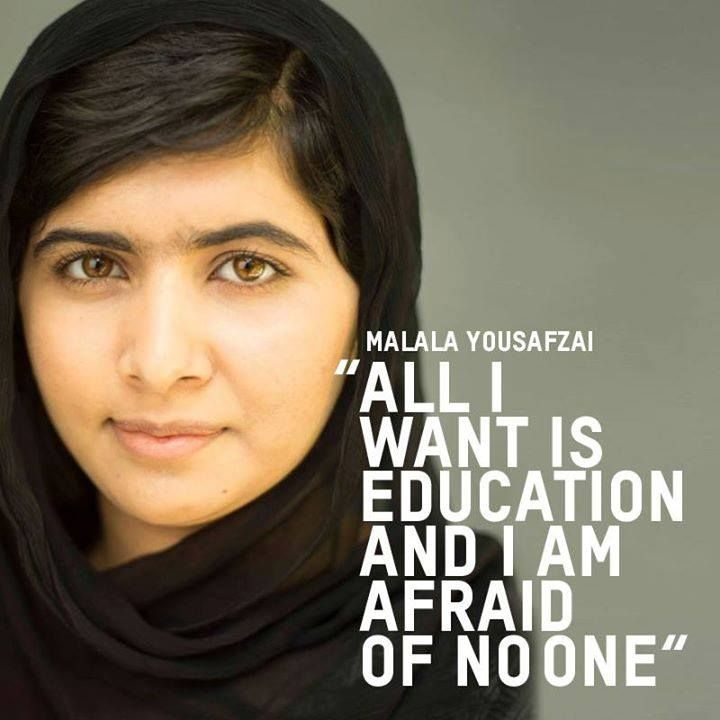 You go girl! Want more inspiration? Check out other great stories from girls and women worldwide. #Malala #Girls #Women