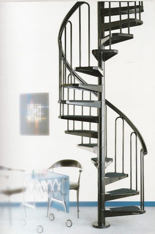 Small Yet Elegant The Petite Spiral Staircase Is Our