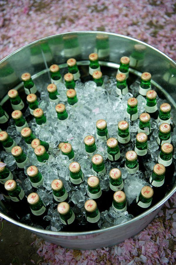 Elegant Vintage Themed Wedding beer