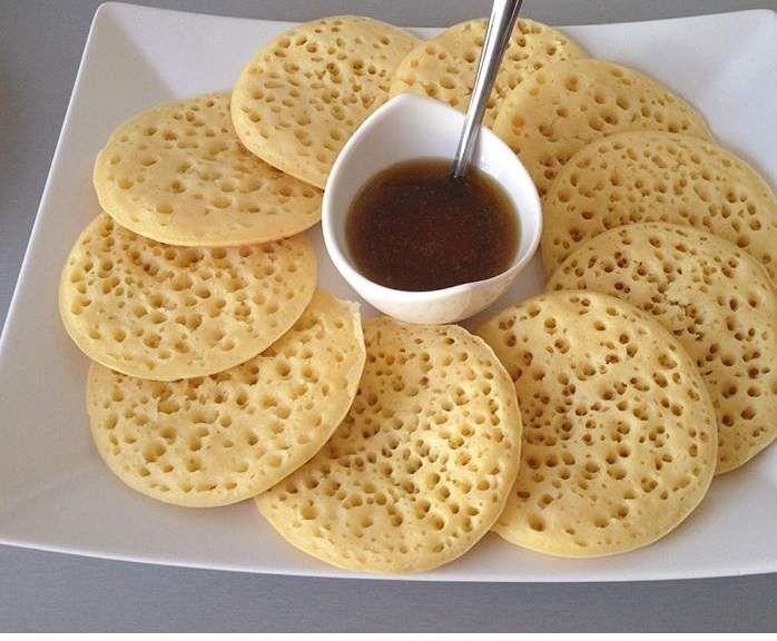 Schön Marokkanische Pfannkuchen
