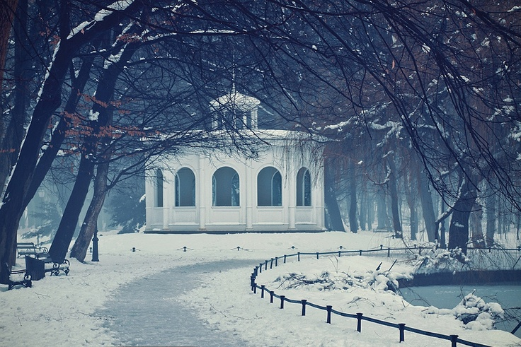 Beautiful winter day in park Maksimir, Zagreb (by Jasna Buzimkic)