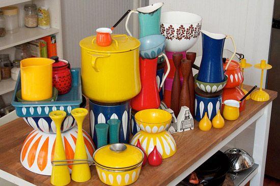 mid-century kitchenware