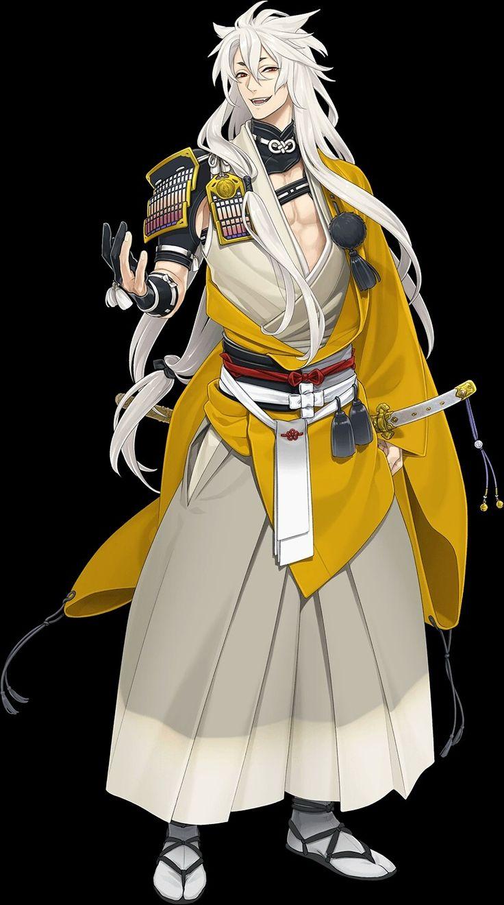 Kogitsunemaru Desain karakter, Perang, Gambar