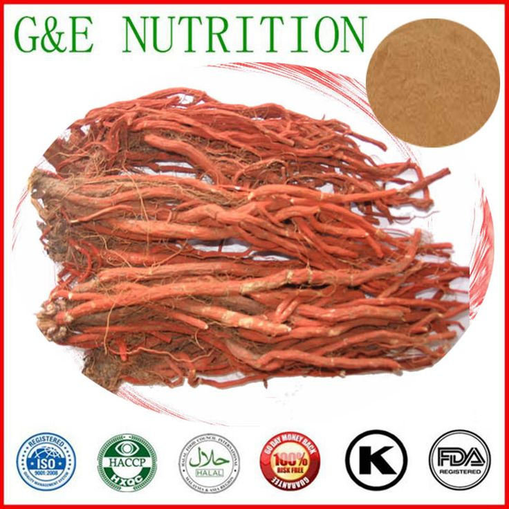 500g Natural Salvia miltiorrhiza Extract with free shipping