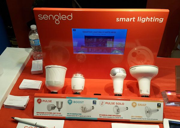 W czasie tegorocznych targów IFA 2016 firma Sengled zaprezentowała żarówki LED…