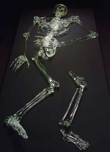 """""""Hunter"""", 1988 by William Morris  Glass"""