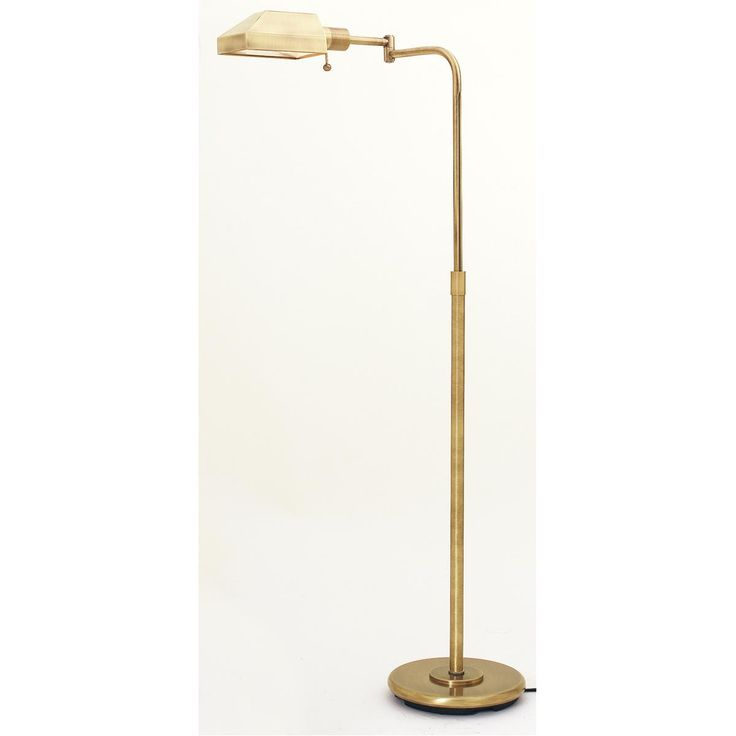 superior antique brass gallery pharmacy floor lamp perfect for my. Black Bedroom Furniture Sets. Home Design Ideas