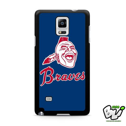 Atlanta Braves Logo Samsung Galaxy Note 4 Case
