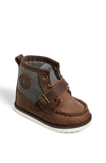 Ralph Lauren Crib Shoe (Baby) available at #Nordstrom omg yes:) hahah my baby (if that ever happens) will so wear these