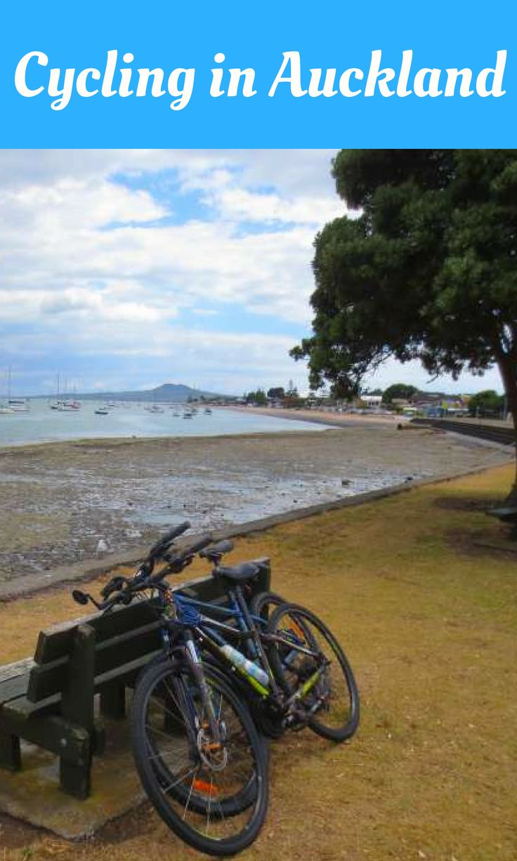Cycling in Auckland, New Zealand