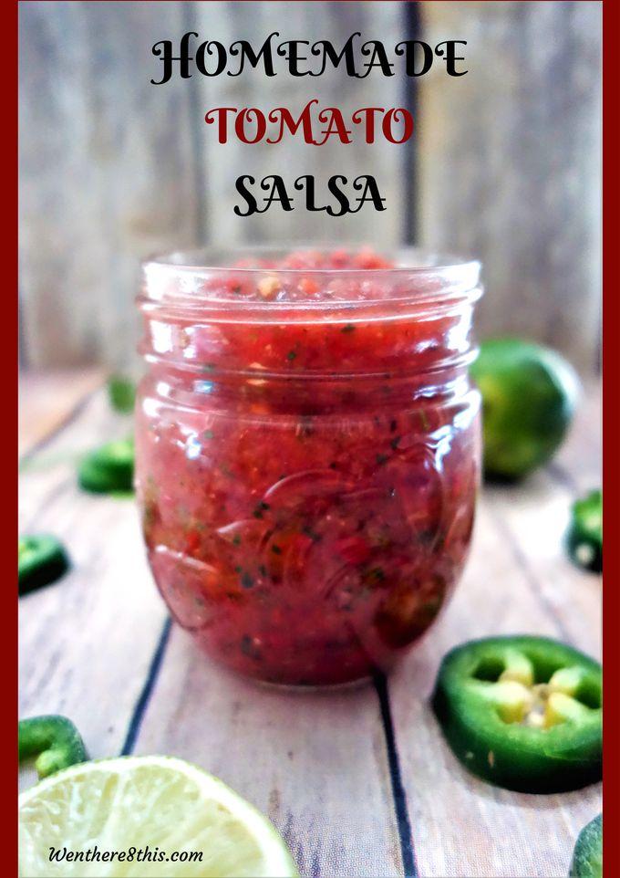 The Best Homemade Tomato Salsa - Fresh and Delicious! salsa recipe, homemade salsa, salsa easy, tomato salsa recipe, tomato salsa easy, fresh tomato salsa, spicy tomato salsa recipe