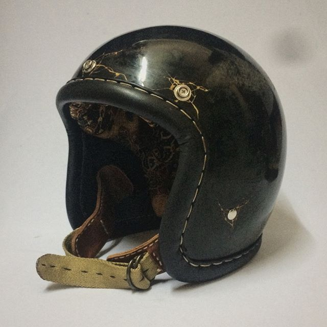 Distress Is Cool Helmet Psychedelips Helmet Itu Ibarat Mahkota