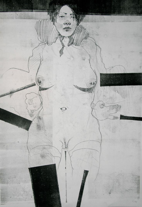 NUDE No. 3352 100 x 70 cm