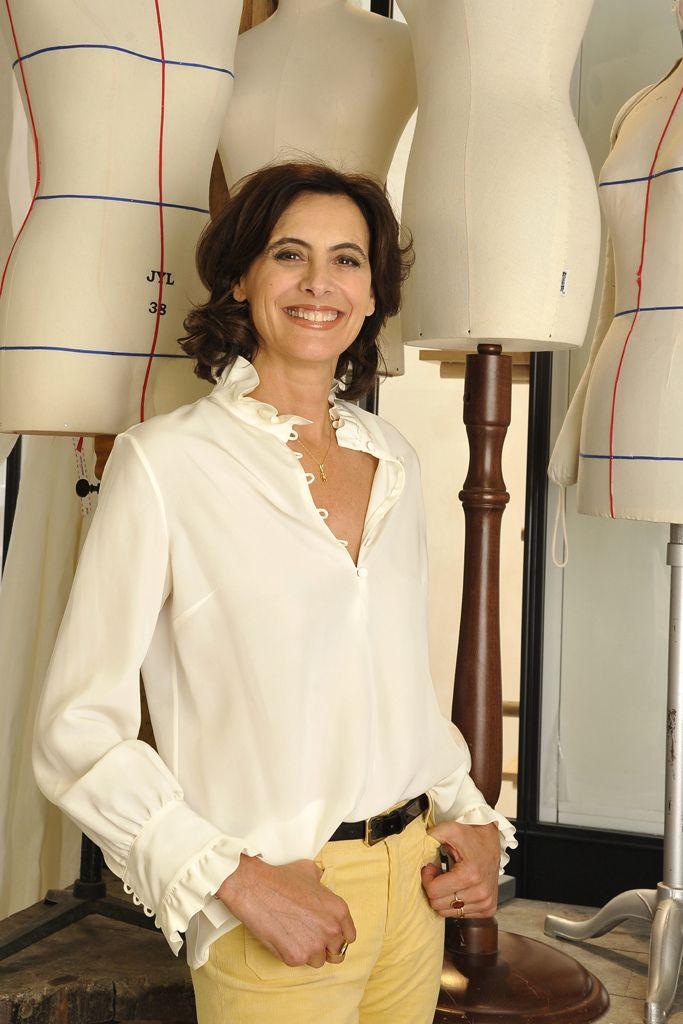 214 best images about style ines de la fressange on pinterest blazers parisians and white jeans - Mari d ines de la fressange ...