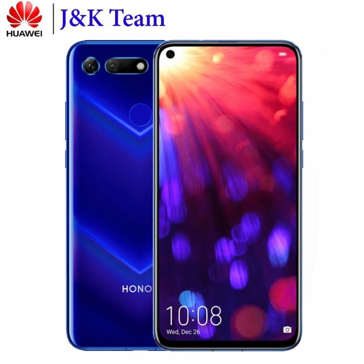 Huawei Honor V20 Honor View 20 Nfc Mobile Phone Liquid Cooling