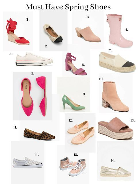Must Have Spring Shoes 2019 flats