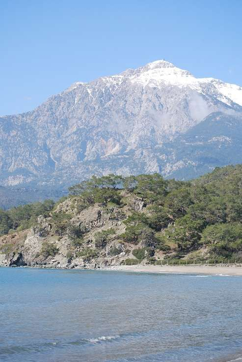 Mount Olympus, Greece - highest mountain in Greece, located in the Olympus Range on the border between Thessaly and Macedonia.  It is a National Park of Greece and a World's Biosphere Reserve.