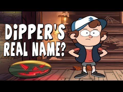Gravity Falls: Dipper's Real Name - Big Secrets Revealed!